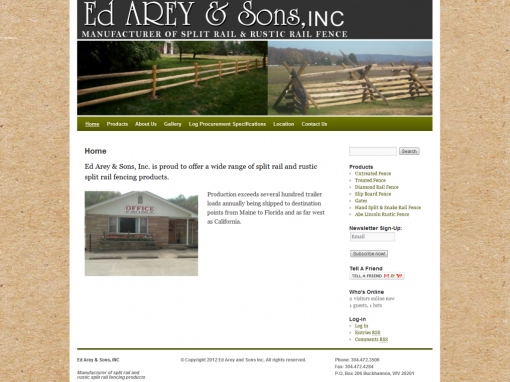 Ed Arey and Sons